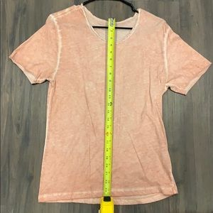Men's orange Zara shirt